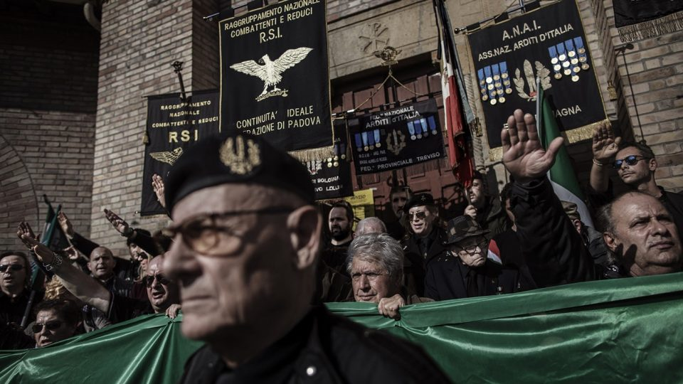 Fascist Italian groups gather at Mussolini's tomb to honor the WWII era dictator (The New Republic)